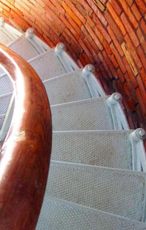 Lighthouse Aquinnah Martha's Vineyard stairs