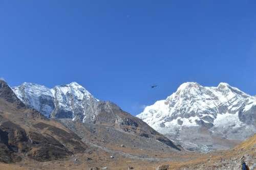 Himalayas Nepal asia scenic scenery