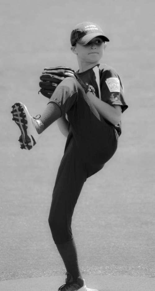 Baseball pitcher sports