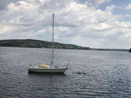 scenicitaly sailboat lake landscape