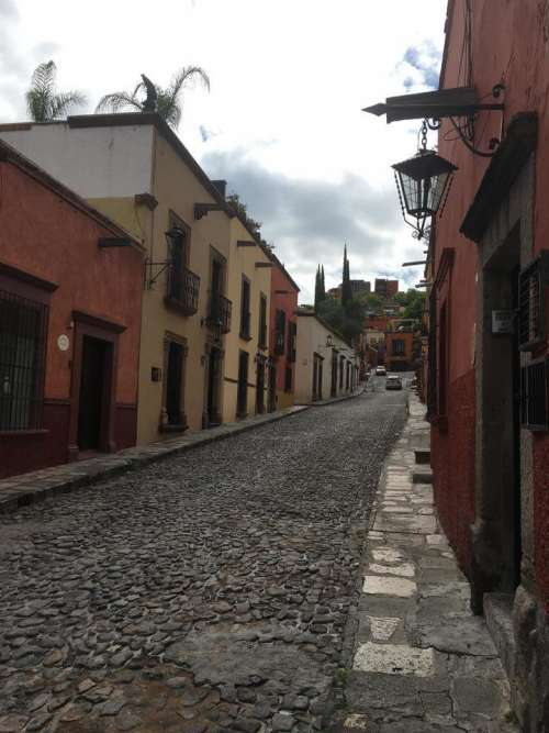 street house vintage mexico
