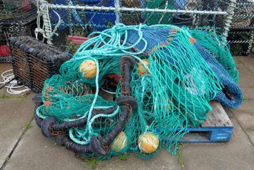 fishing net trawler harbour marine
