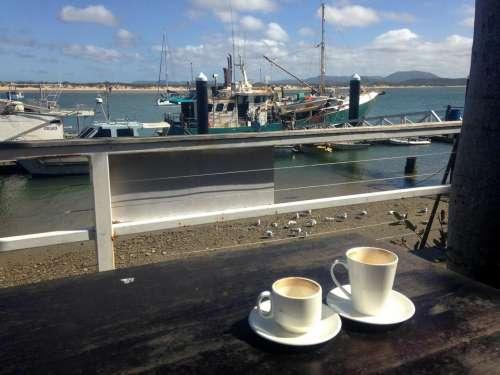 coffee dock nautical boat boats