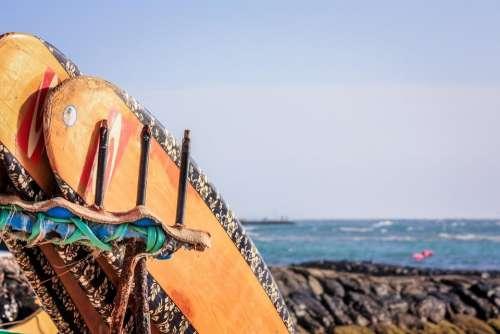 Waikiki Hawaii surfing surfboards seaside