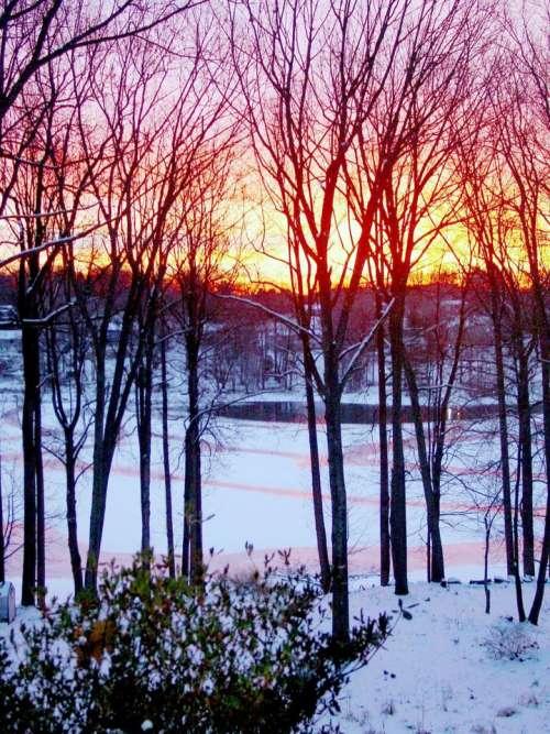 Mahopac Putnam County New York Winter 2017