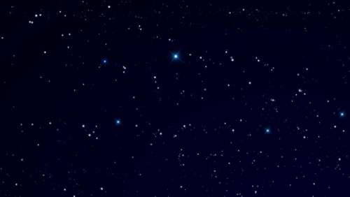 outer space stars celestial universe nighttime