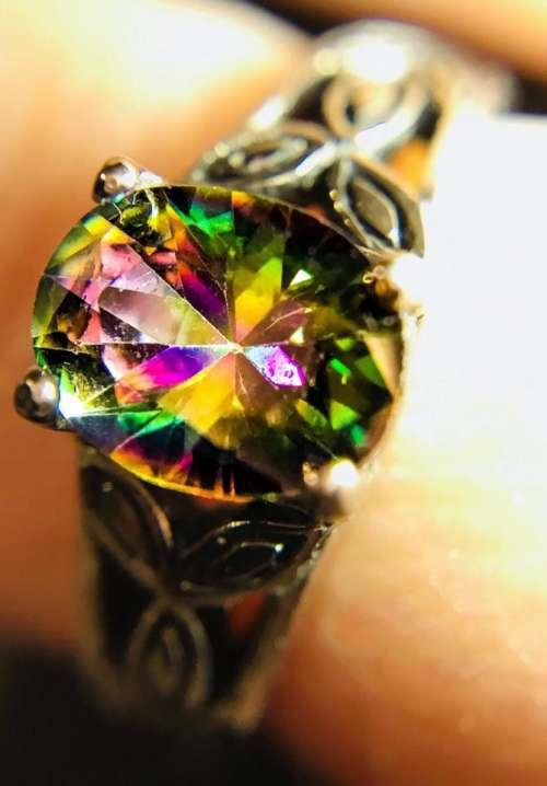 Jewelry gem stone light