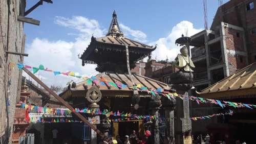 Pagoda Nepal Asia shrine architecture