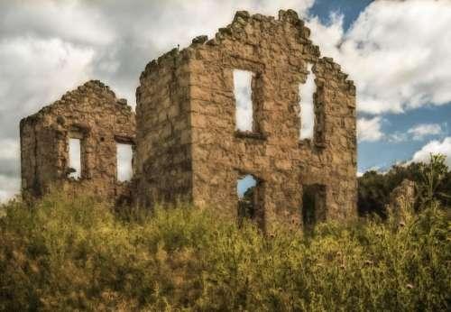Ruins stone
