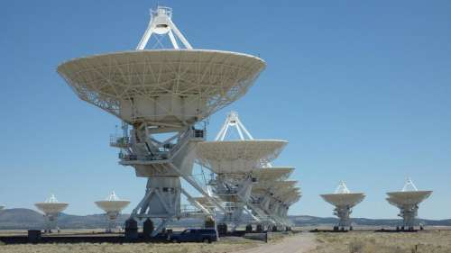 Very Large Array New Mexico dish dishes antenna