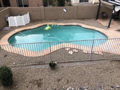 swimming pool pool backyard fence