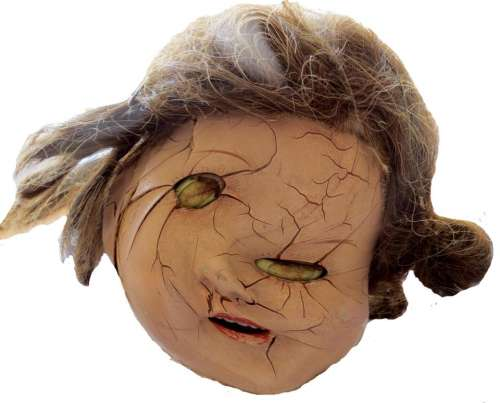 doll face twisted distorted broken