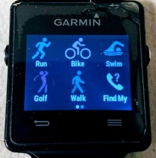 gps watch sports garmin fitness