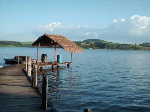 Lake pier dock