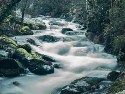 waterfalls river water motion
