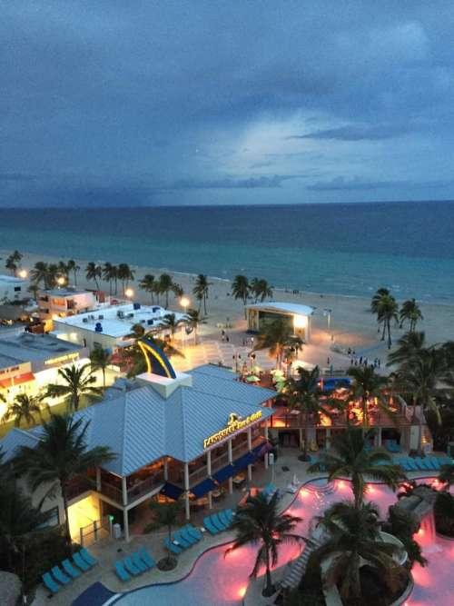 resort beach hotel pool