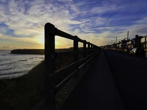 newcastle Seaton Sluice Whitley Bay waves rocks