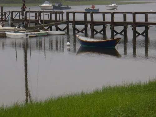 dock docks pier boat nautical