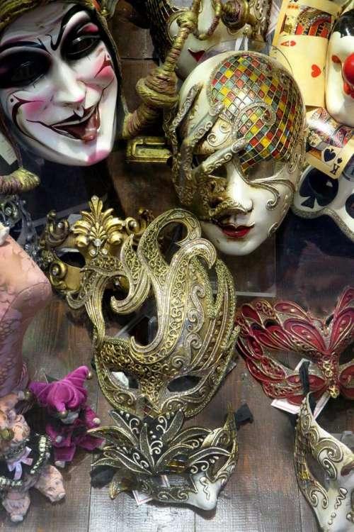 Venice masks mask jester mask shop
