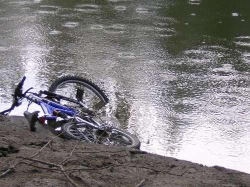 Flood rain bicycle