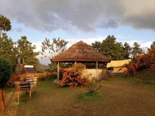 Napal travel hut gazebo