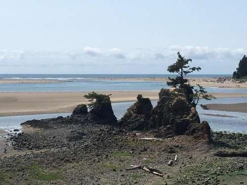 portland oregon coast coastline ocean
