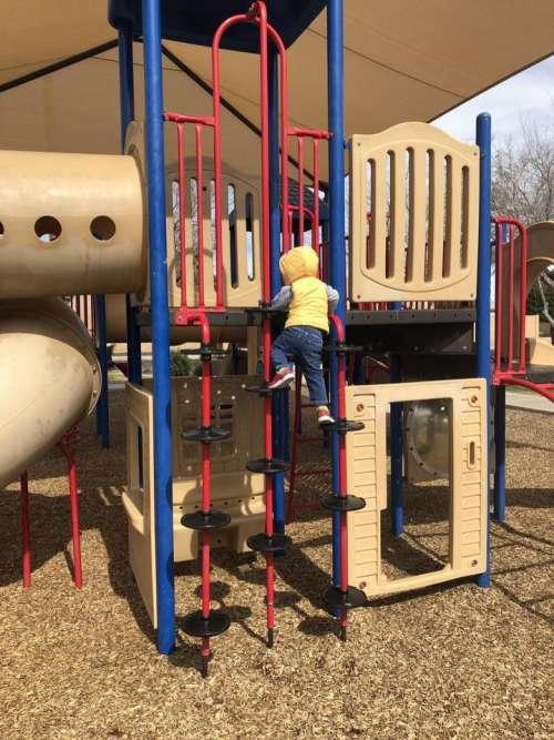 park climb ladder climbing toddler