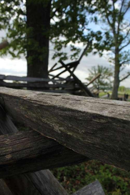 fence rail fence wood fence wood tree