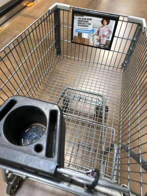 grocery grocery cart buggy cart grocery store