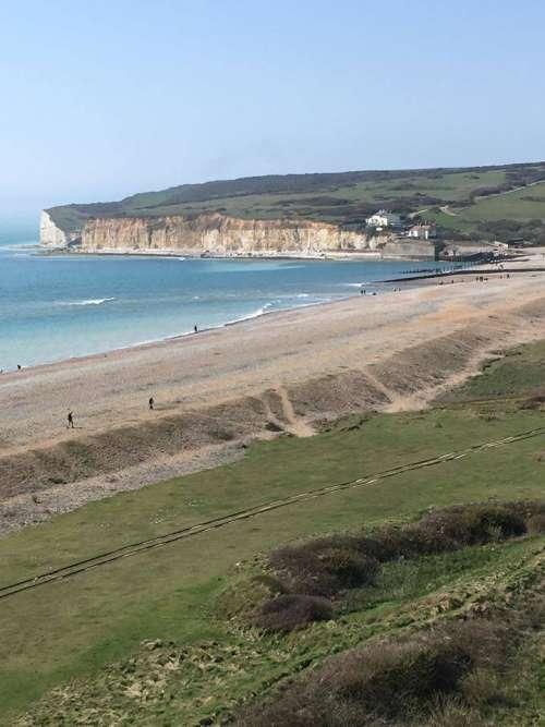 ocean seashore shore coast beach