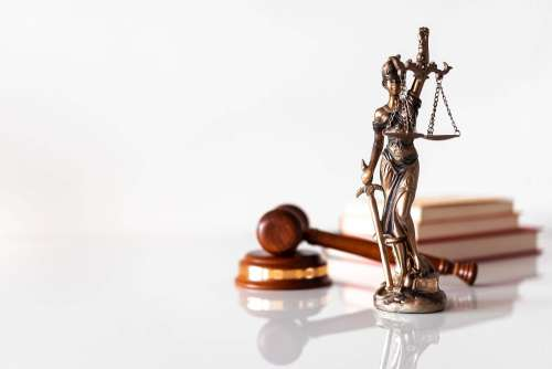 Law Firm Blind Lady Justice