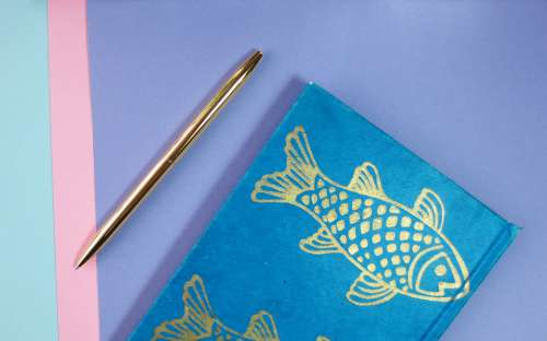 Address Book Background Pen Drawing Notebook