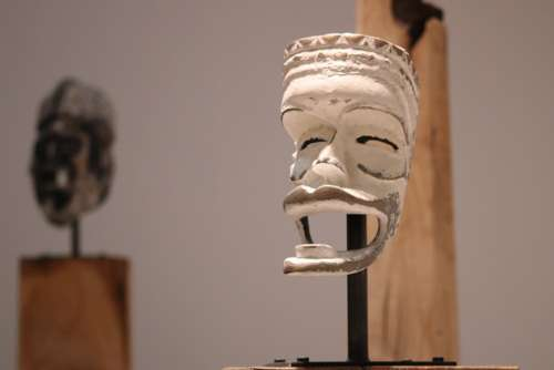 African Mask Art First White Mask Art Museum