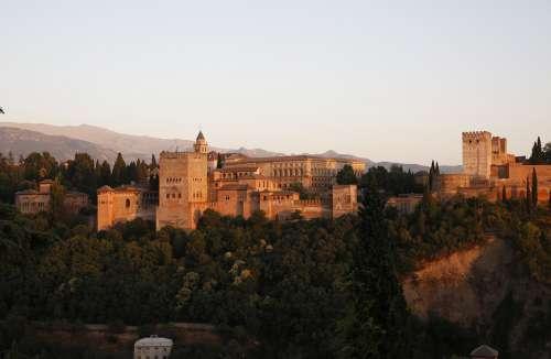 Alhambra Granada Spain Monument
