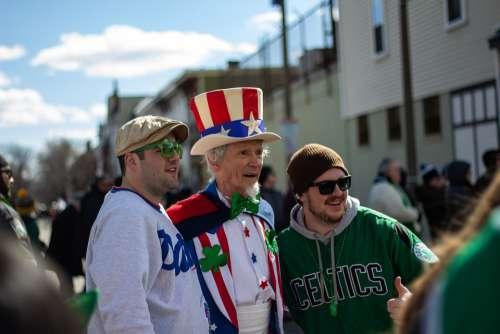 America Boston Usa Massachusetts Downtown Carneval