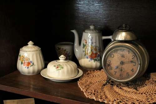 Antique Age-Old Old Clock Alarm Clock Nostalgia