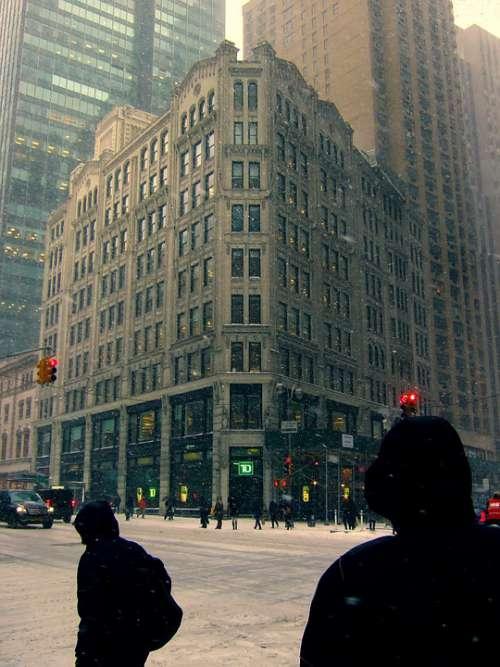 Apartments On Star Manhattan New York City Street
