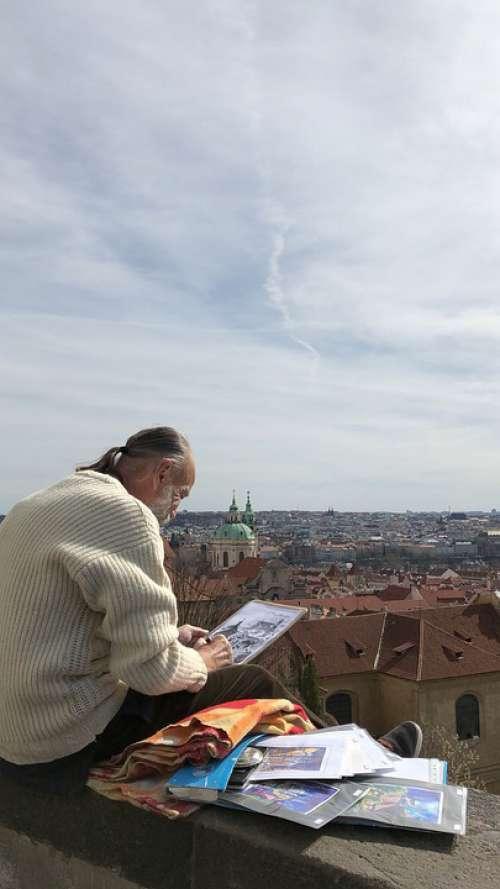 Artist Czech Prague Men
