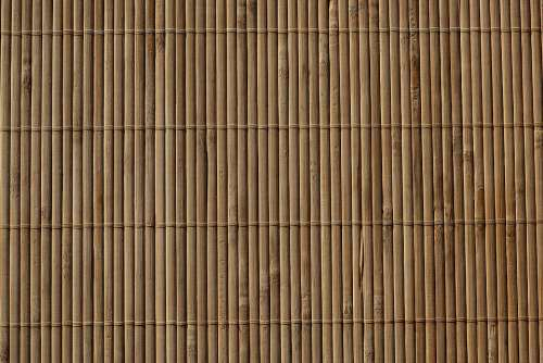 Background Brown Bamboo Pattern Texture Close Up