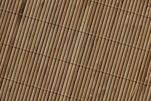 Background Bamboo Brown Pattern Texture Close Up