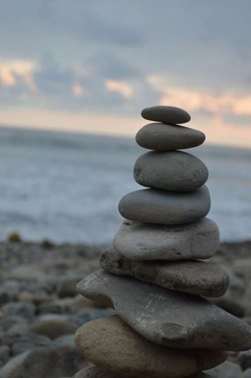 Balance Art Yoga Spiritual Harmony Serenity Calm