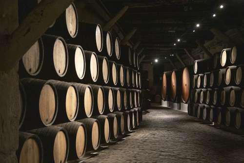 Barrels Cava Wine Porto Winery Flavor Wood