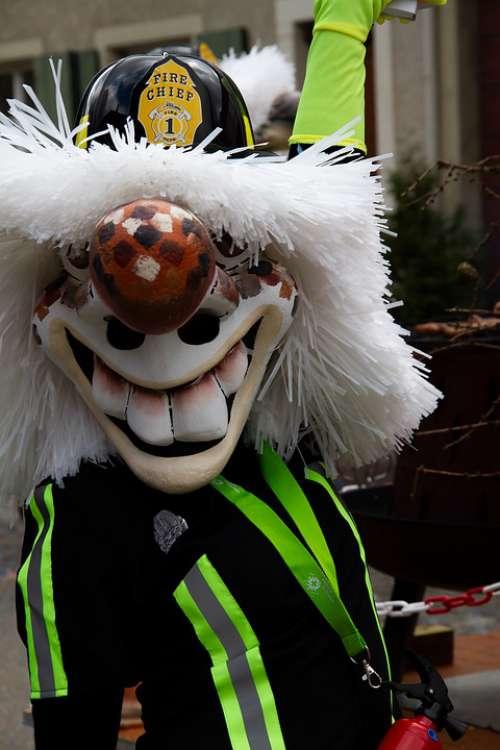 Basel Carnival Carnival Mask Costume Basel Larva
