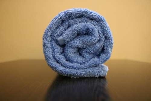 Bath Towel 450 Gsm Color Blue