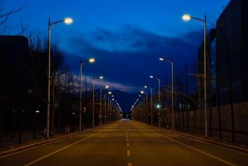 Be Quiet Distance Road Street Lamp