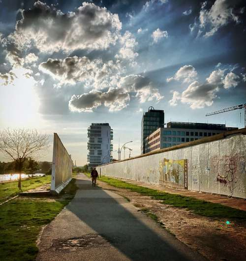Berlin Berlin Wall Eastside Gallery Wall Germany