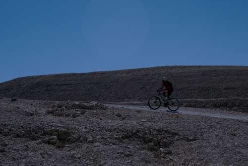 Bicycle A Bike Sport Biking Travel Desert