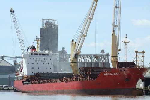 Boat Ship Mobile Alabama