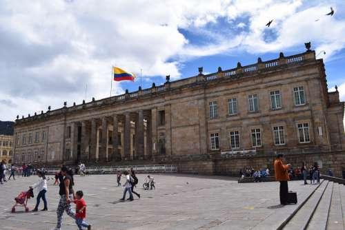 Bogotá City Bogota Colombia Architecture Capital
