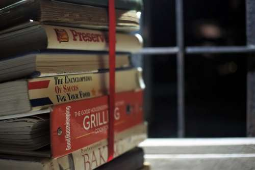 Books Cooking Window Bar Classic Reading